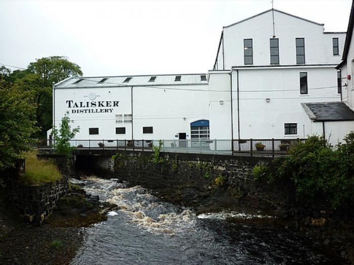 Talisker Scotch Whisky Distillery Mcm Panel